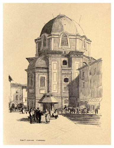 003- Capilla Medici-Florence  a sketch book (1914)- Richards Fred