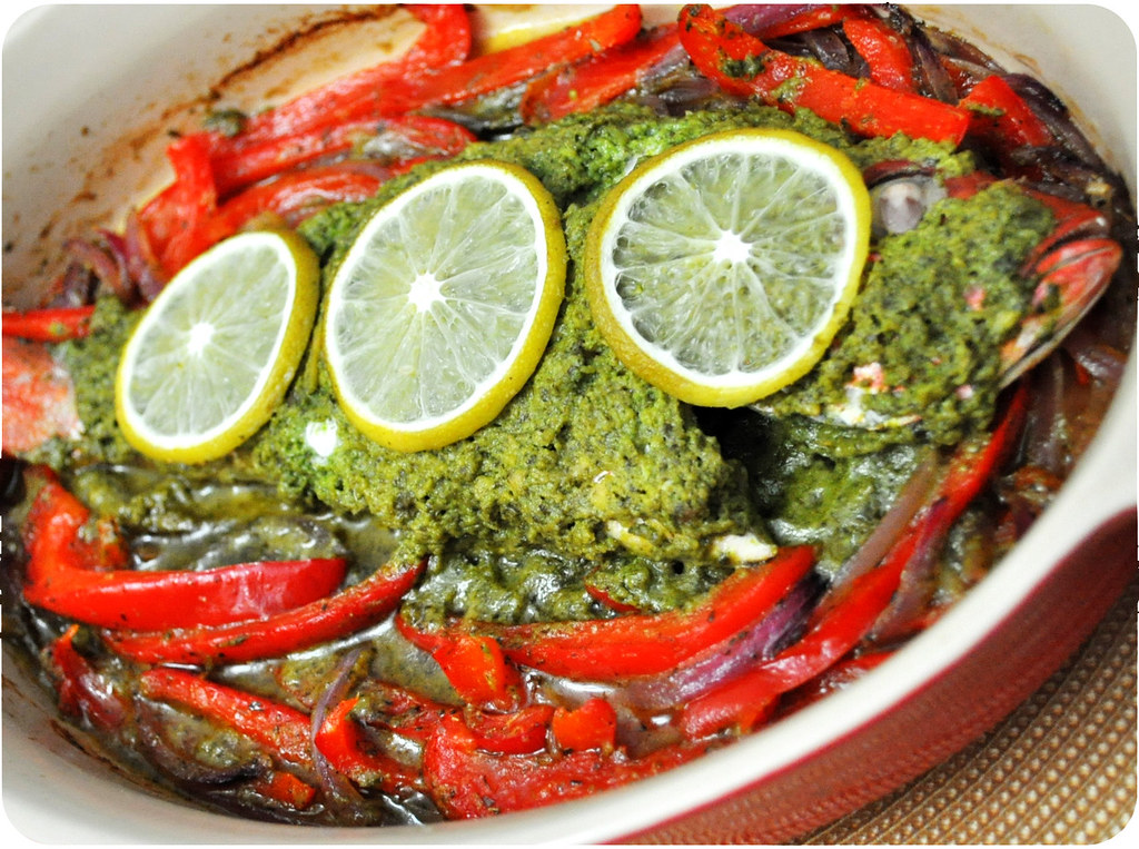 Mediterranean Whole Baked Snapper