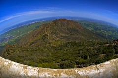 Mt Diablo Fisheye View (Matt Granz Photography) Tags: california mountain distortion landscape nikon mt fisheye diablo soe pittsburg 10mm baypoint d90 contracostacounty