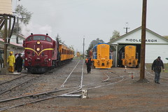 Lots of Diesels - Monday and it's raining (Wheel5800) Tags: new heritage station branch weekend ghost central rail railway zealand labour otago locomotive middlemarch ocb tgr nzr