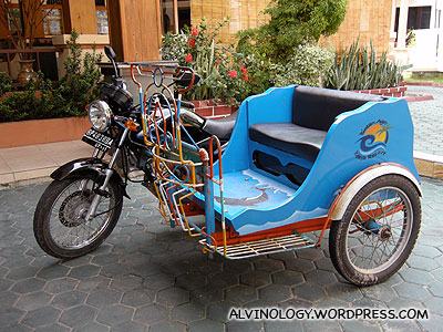 This is what the tri-bike looks like