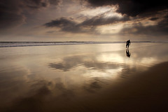 Balance (Helminadia Ranford) Tags: bali seascape beach home indonesia sand hometown rays kuta