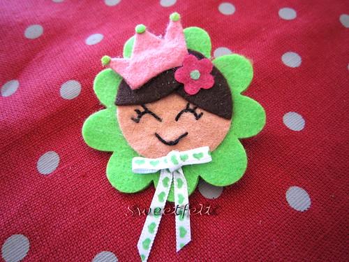 ♥♥♥ Pregadeira Princesa Martinha ... by sweetfelt \ ideias em feltro