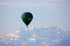 Going high. Explore May, 22nd 2011 (Elysium 2010) Tags: morning mountains flying montgolfier montgolfire dentdumidi