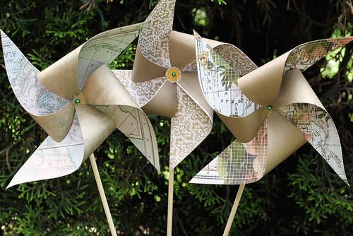 Handmade Pinwheels