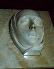"""Virgin"" (1924) marble by Adolfo Wildt (Milan 1868-Milan 1931) - Ro Ferrarese, Cavallini Sgarbi Foundation - ""The hidden art treasures: 150 Italian masterpieces"" - Exhibition up to May 28, 2017 in Naples (Carlo Raso) Tags: adolfowildt naples vittoriosgarbi italy virgin"