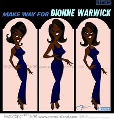 DIONNE WARWICK - MAKE WAY FOR DIONNE WARWICK (n69n) Tags: david art illustration design blues pop soul norn elegant drama warwick gospel dionne rhythm yiddish bacharach sophistication cutson