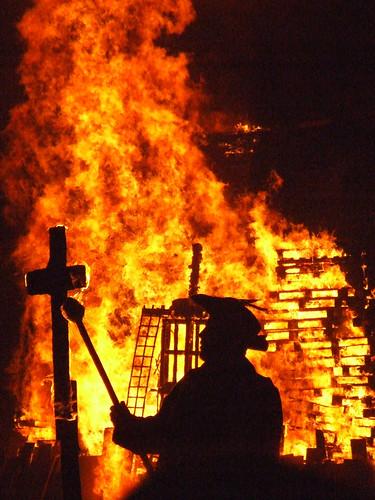 Lighting the Cross