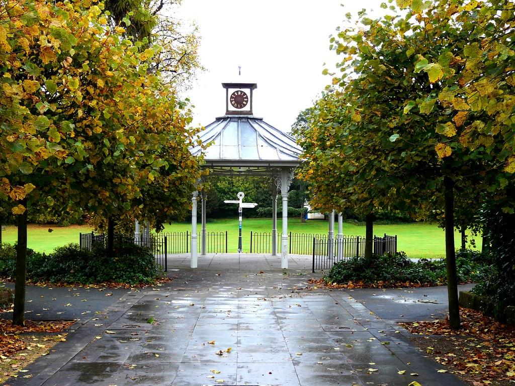 Bandstand, War Memorial Park, Basingstoke Hampshire