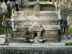 Angkor Wat Miniture in Siem Reap