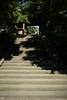 寺社仏閣の石階段