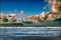 Newport shore (Trees n stuff) Tags: beach wales landscape newport pembrokeshire xman d80 bej floppyboot