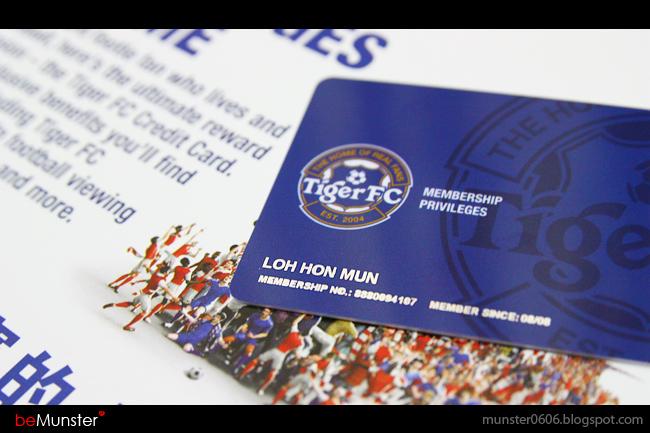Tiger FC Member Card 2009