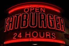 Fatburger neon