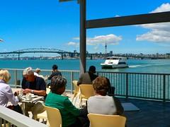 Birkenhead, North Shore City, Auckland, New Zealand (Sandy Austin) Tags: newzealand auckland birkenhead wharf northisland ferryterminal waitemataharbour panasoniclumixdmcfz5 northshorecity sandyaustin birkenheadwharf