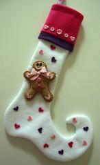 meia de biscoito (Mi Feltro) Tags: natal feltro