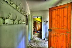 Door and wardrobe