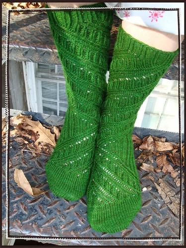 green green green goblin socks