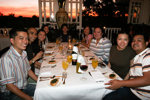 Tagaytay - Sunset Dinner at Antonio's