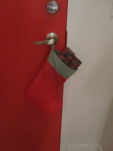 Sock on the door