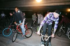 Footdown (zhoffner) Tags: seattle events bikes fixedgear tre keo revival shigeo futuretense zlog justinav madebytre