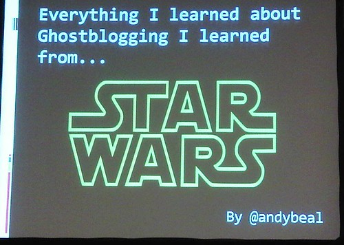 Slide by Andy Beal during presentation at SES Chicago 2009