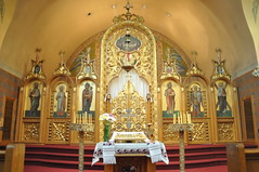 Iconostasis of St. Andrew's Ukrainian Orthodox Church