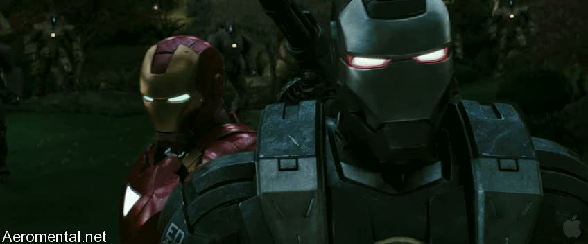 Iron Man 2 Trailer 2 War Machine masks on