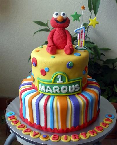 Elmo Marcus cake
