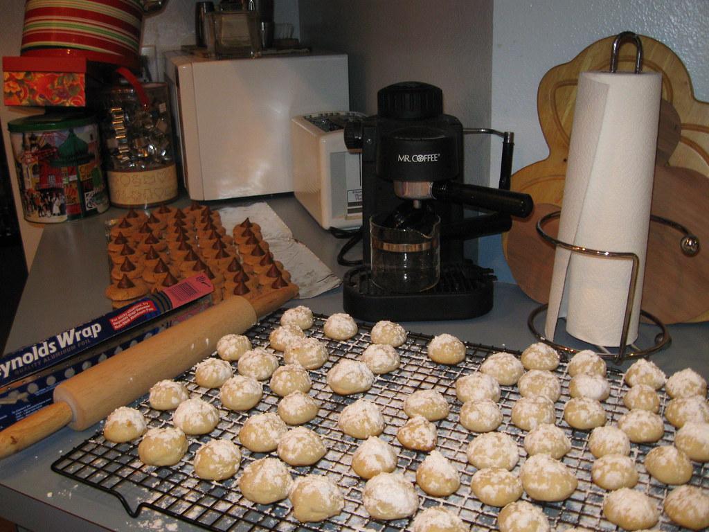 Shortbread & Hershey Peanut Butter Cookies