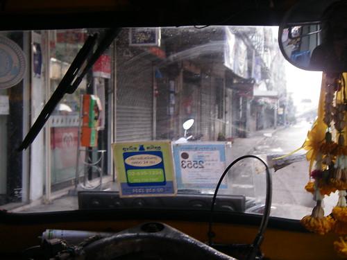 Infamous Bangkok Tuktuk