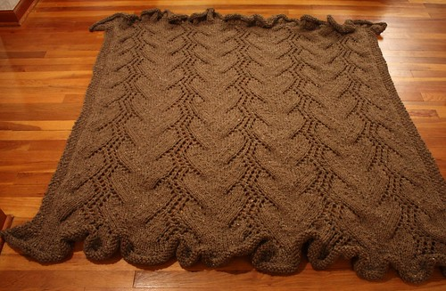 Mud Lace Afghan