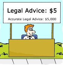 DONT SETTLE FOR CURBSIDE ADVICE.  CONSULT A REAL LAWYER...FOR FREE!