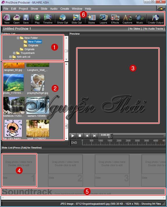 Hướng dẫn làm video với phần mềm Proshow Producer.