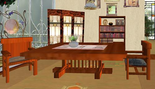 60L Sunday  le Monde Fine Furniture mission dining room set