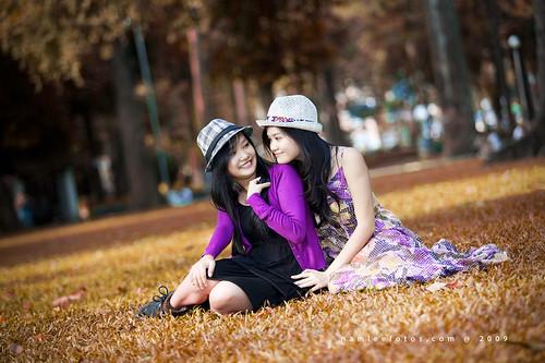 Hình chân dung Mai Vy - Minh Vân