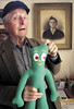 "Art Clokey shows his inpiration for Gumby • <a style=""font-size:0.8em;"" href=""http://www.flickr.com/photos/98558265@N00/4257473557/"" target=""_blank"">View on Flickr</a>"