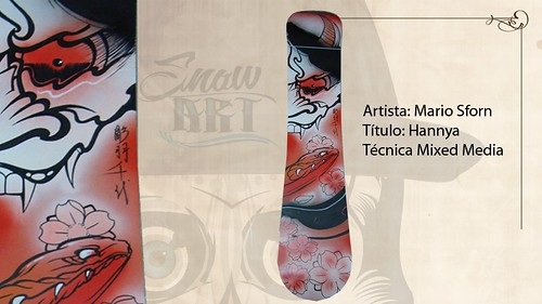 Expo Snowboard Tattoo Art: An amazing exhibition of snowboards customized by