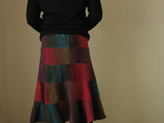 Noro Skirt Finished! -3