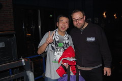 Pics with the fans (NewBrewThursday) Tags: japan oeast ocrest onest betterlucknexttime chrislucas blnt johnholzer brianbortoli mattfuzzo