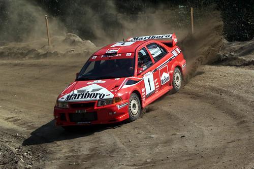 Mitsubishi Evo 6 Rally. Mitsubishi Evo VI rally