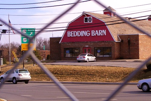Bedding Barn Behind Bars