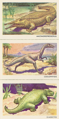 Sinclair Dinosaur Stamps Set 1