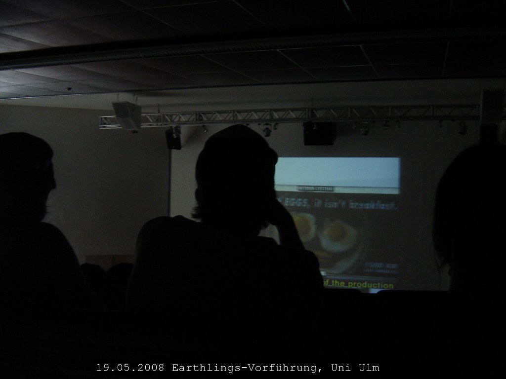 Ulm: Earthlingsvorführung