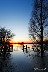 Welney, Ouse washes in winter flood at dusk. (Nigel Blake, 17 MILLION views! Many thanks!) Tags: from road winter canon photography eos looking flood dusk south photographed blake ouse nigel fens cambridgeshire causeway welney washes 1dsmkiii absolutelystunningscapes vosplusbellesphotos