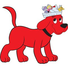 Make a Valentine's Day Card with Clifford