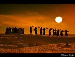 The Spirit of Sahara ! (Bashar Shglila) Tags: world light sunset sun sahara festival photography dance gallery desert photos spirit top best most worlds tribe popular libya tuareg ghat libyen   lbia   libi libiya liviya  libija          lbija  lby libja lbya liiba livi  elberkit