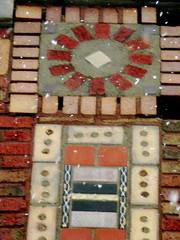 Ornamental Brick Design, Decorative Structure, River Rd