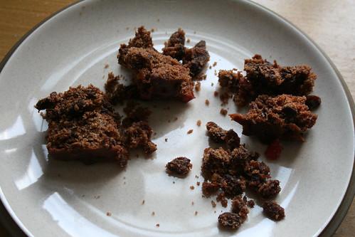 2010-01-30 - Pavillion Gluten Free Christmas Cake - 03 - Slice