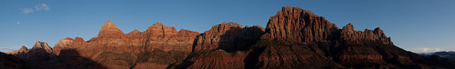 Zion Canyon Panorama